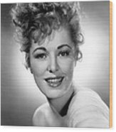 Naked Jungle, Eleanor Parker, 1954 Wood Print by Everett