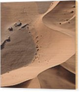 Namibia Aerial II Wood Print by Nina Papiorek