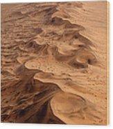 Namibia Aerial Wood Print