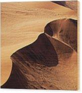 Namibia Aerial Vi Wood Print