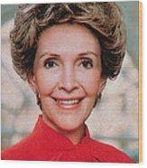Nancy Reagan, 40th First Lady Wood Print