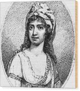 Nancy Storace (1765-1817) Wood Print
