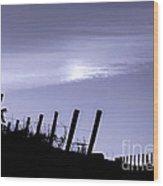 Napa Moonglow Wood Print