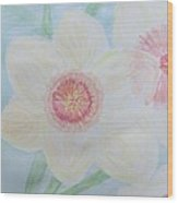 Narcissus Flower Wood Print