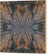 Narrows Mask Wood Print