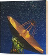 Nasa Deep Space Tracking Station, Australia Wood Print
