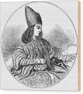 Naser Al-din Wood Print