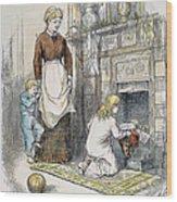 Nast: Santa Claus Wood Print by Granger