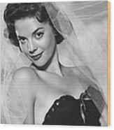 Natalie Wood, Warner Brothers, 1950s Wood Print by Everett