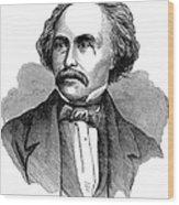 Nathaniel Hawhtorne Wood Print