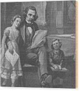 Nathaniel Hawthorne, American Author Wood Print