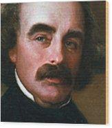 Nathaniel Hawthorne Wood Print