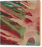 Native Abstract Weave Wood Print