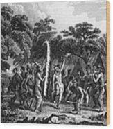 Native Americans: Dance Wood Print