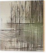 Natural Abstract 2 Wood Print
