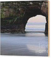 Natural Bridges Arch Wood Print