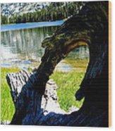 Natural Frame  Wood Print