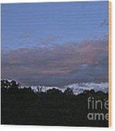 Natural Skyline Wood Print