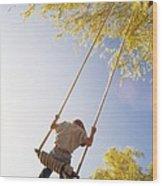 Natural Swing Wood Print