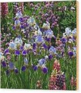Natures Bouquet Wood Print