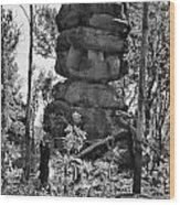 Nature's Statuette  Wood Print