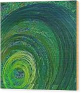 Natures Storm Wood Print