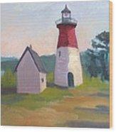 Nauset Lighthouse Cape Cod Wood Print
