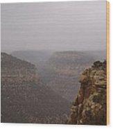 Navajo Canyon Wood Print