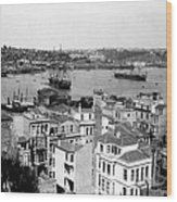 Naval Arsenal And The Golden Horn - Ottoman Empire - Turkey Wood Print