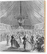 Naval Festival, 1865 Wood Print