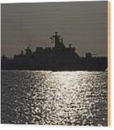 Naval Joint Operations V7 Wood Print