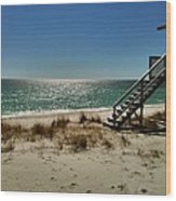 Navarre Beach Wood Print