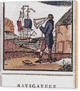 Navigator, 19th Century Wood Print