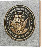 Navy Seal Wood Print