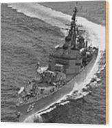 Navy: Uss Bainbridge, 1968 Wood Print