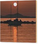 Naxos Island Greece Wood Print