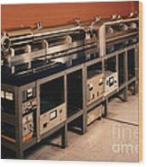Nbs-6 Atomic Clock Wood Print