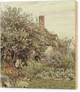 Near Hambledon Wood Print by Helen Allingham