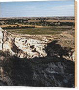 Nebraska Plains Wood Print