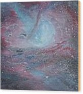 Nebula 2 Wood Print by Siobhan Lawson