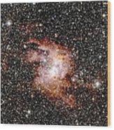 Nebula Ngc 3603 Wood Print