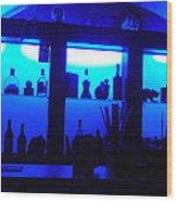 Necropolis Bar Prague Wood Print