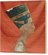 Nefertiti, Ancient Egyptian Queen Wood Print