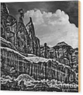 Nefertiti Arches National Park Wood Print