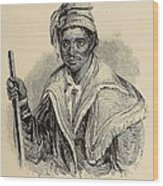 Negro Abraham Was An African Seminole Wood Print