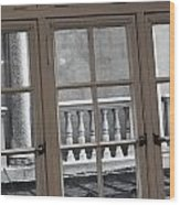 Neighbors Baluster Wood Print