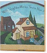 Neighborworks Wood Print