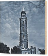Nelson Monument Wood Print