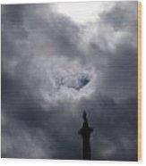 Nelson's Skyline Wood Print