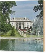 Nemours Mansion And Gardens Wood Print